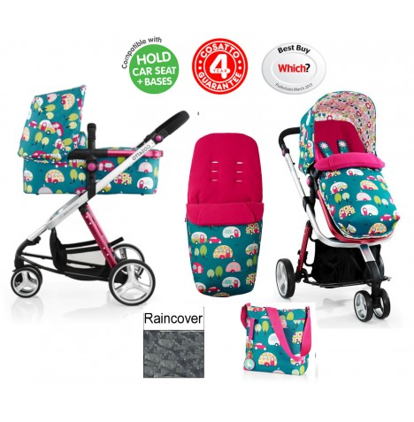 Cosatto Giggle 2 Combi 3 in 1 Pushchair - Happy Campers