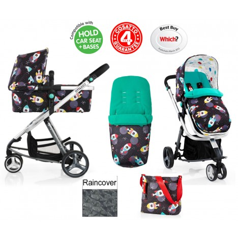 Cosatto Giggle 2 Combi 3 in 1 Pushchair - Space Racer