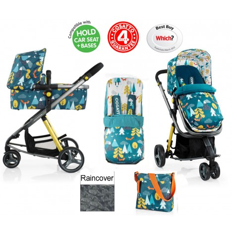 Cosatto Giggle 2 Combi 3 in 1 Pushchair - Fox Tale