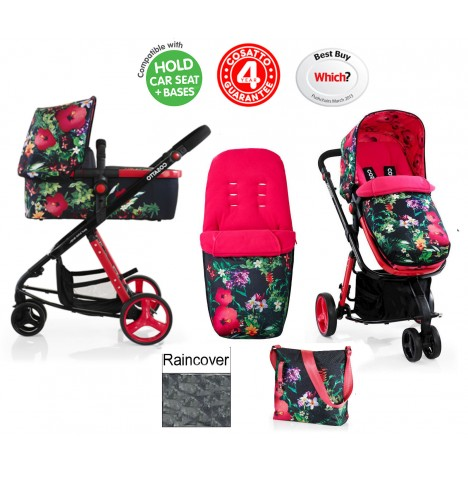 Cosatto Giggle 2 Combi 3 in 1 Pushchair - Tropico