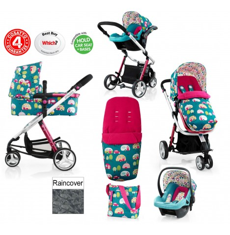 Cosatto Giggle 2 Combi 3 in 1 Travel System - Happy Campers