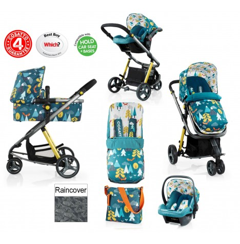 Cosatto Giggle 2 Combi 3 in 1 Travel System - Fox Tale