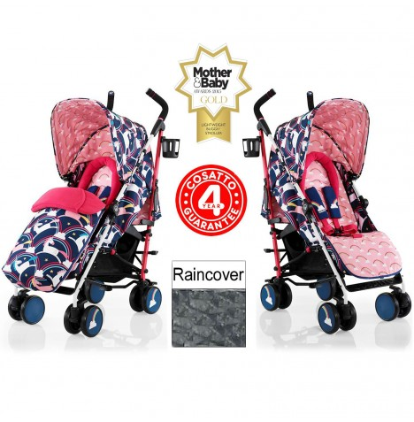 Cosatto Supa Pushchair Stroller - Magic Unicorns