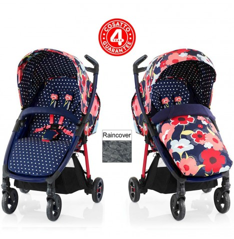 Cosatto Fly Stroller - Proper Poppy