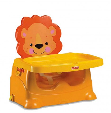 Fisher Price Precious Planet Lion Booster Seat - Orange