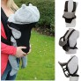 Red Kite 2 Way Baby Carrier - Black