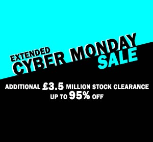 Up to 95% OFF in our Extended Cyber Monday SALE