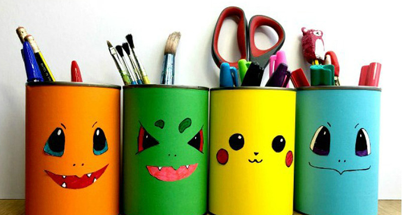 DIY Pokemon Pencil Craft By Red ted Art
