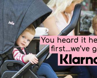 You heard it here first...we've got Klarna!