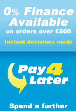 Finance available on orders over £300