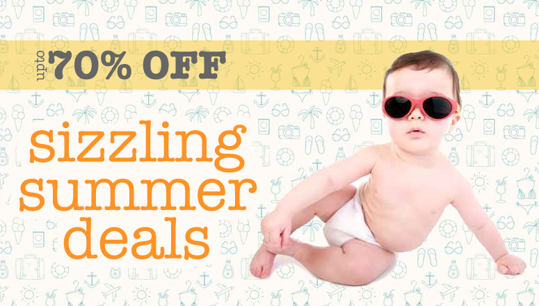 Up to 70% Off Online4Baby Sale - Sizzling Summer Deals