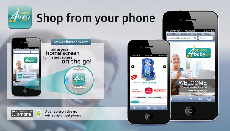 Online4Baby - Shop From Your Mobile Phone.