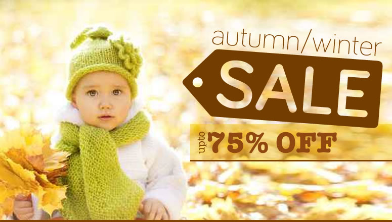 Online4Baby Autumn Winter Sale - Up To 75% Off Baby Products