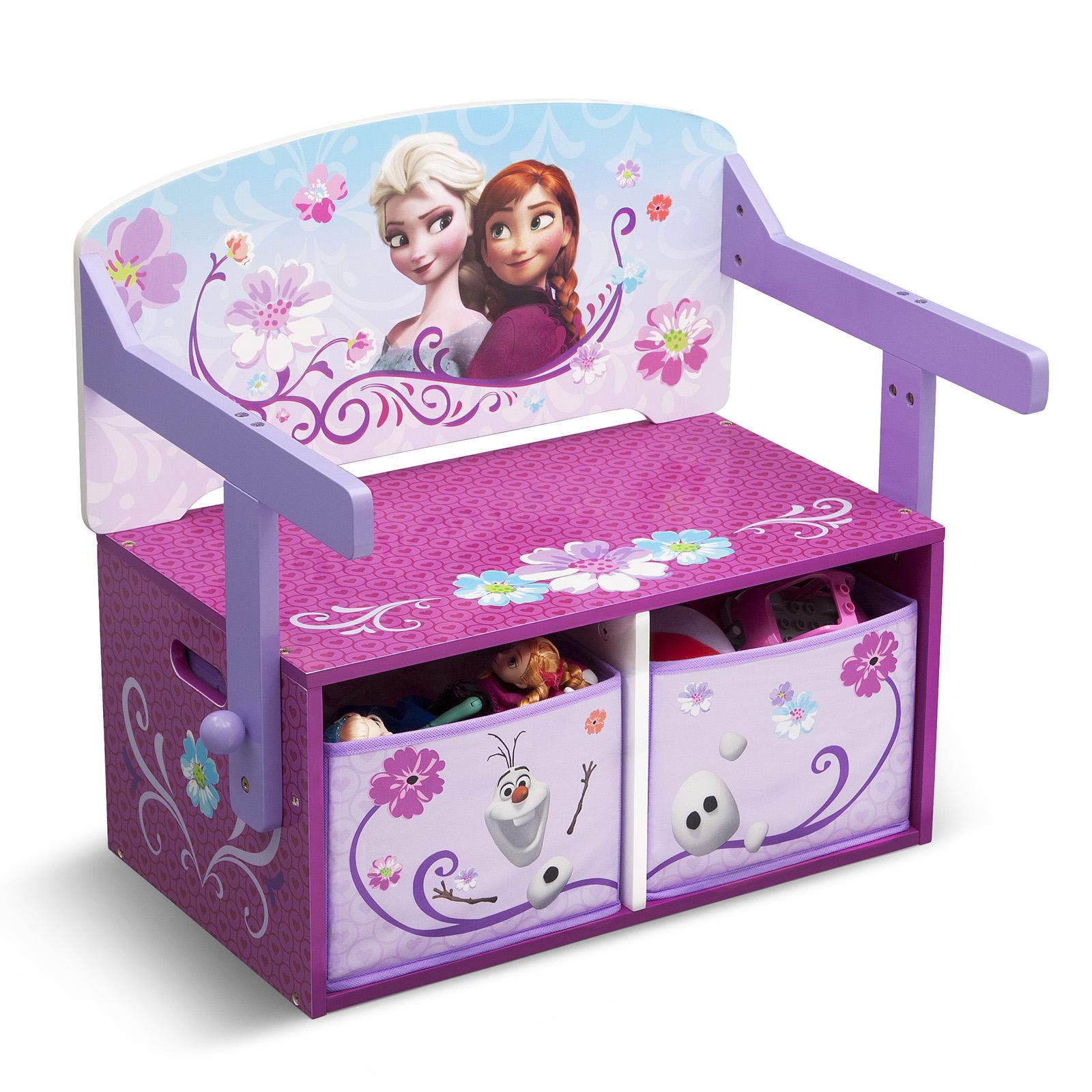 New Delta Children Disney Frozen 3in1 Convertible Bench