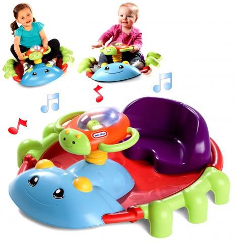 New Little Tikes Activity Garden Rock N Spin Childs Interactive Toy Ebay