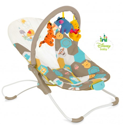 HAUCK DISNEY POOH SPRING IN THE WOODS BUSY BOUNCER FOLD