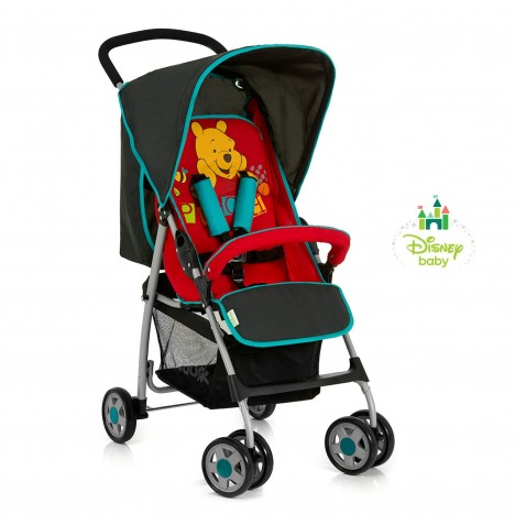 new hauck disney sport v pooh pushchair stroller baby buggy from birth ebay. Black Bedroom Furniture Sets. Home Design Ideas