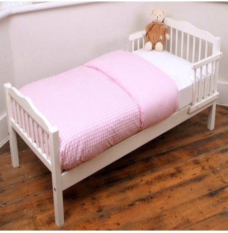 NEW SAPLINGS WHITE JUNIOR TODDLER BABY BED Amp MATTRESS
