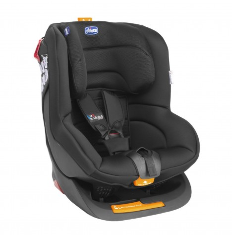 new chicco black oasys group 1 reclining car seat padded baby childs carseat ebay. Black Bedroom Furniture Sets. Home Design Ideas