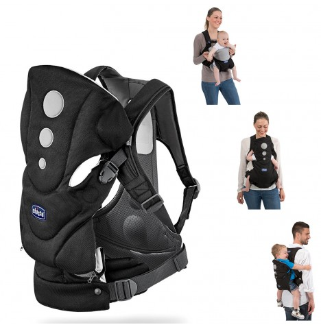 Details About New Chicco Close To You Baby Carrier Ombra Three Ways To Wear Ergonomic Design