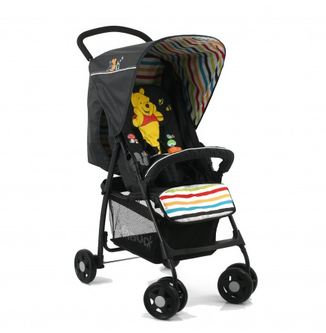 new hauck disney sport pooh tidy time pushchair stroller baby buggy from birth ebay. Black Bedroom Furniture Sets. Home Design Ideas