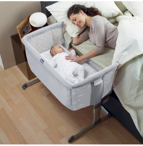 Chicco Circles Special Edition Next 2 Me Height Adjustable Side Sleeping Crib Ebay