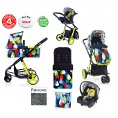 Cosatto Giggle 2 Combi 3 in 1 Travel System - Pitter Patter / Old Skool
