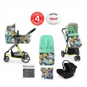 Cosatto Giggle 2 Combi 3 in 1 Travel System - Firebird / Black Ink