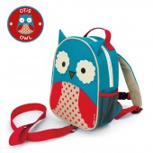 Skip Hop Zoo Let Children's Back Pack With Reins - Owl