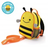 Skip Hop Zoo Let Children's Back Pack With Reins - Bee