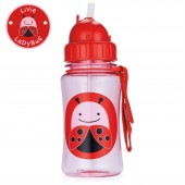 Skip Hop Zoo Straw Bottle - Lady Bug