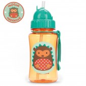 Skip Hop Zoo Straw Bottle - Hedgehog