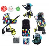 Cosatto Giggle 2 Combi 3 in 1 Travel System - Pitter Patter / Duck Egg