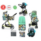 Cosatto Giggle 2 Combi 3 in 1 Travel System - Firebird / Duck Egg