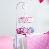 Red Kite Musical Cot / Cot Bed Mobile - Pretty Kitty