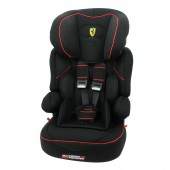 Ferrari Beline SP Car Seat Group 1,2,3 - Black