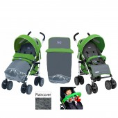 Chicco Multiway Evo Stroller With Activity Arch - Wasabi