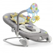 Chicco Balloon Baby Bouncer Rocking Chair - Dark Grey