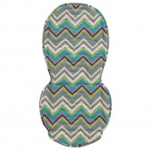 BabyStyle Oyster Collection Colour Pop Pushchair Seat Liner - Jazz
