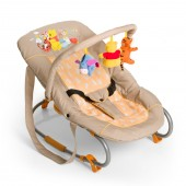 Hauck Deluxe Bungee Bouncer - Pooh In The Sun