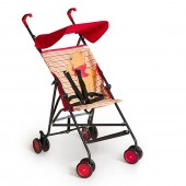 Hauck Disney Sun Plus Buggy Pushchair - Pooh Spring Brights Red