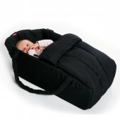Phil & Teds Vibe Cocoon Soft Carrycot - Black