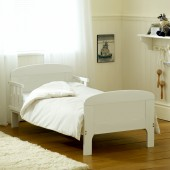 Saplings Harriet Junior Toddler Bed - White