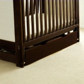 4Baby Large Under Bed Rollaway Drawer - Cocoa