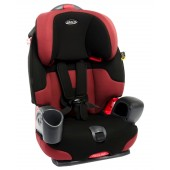 Graco Nautilus Car Booster Seat Group 1,2,3 - Damson
