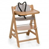 Hauck Beta+ Wooden Highchair - Natural