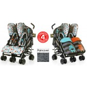 Cosatto Supa Dupa Twin Stroller - Cuddle Monster