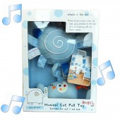 Red Kite Hello Ernest  Musical Cot / Pram Pull Toy - Blue