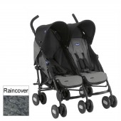 Chicco Echo Twin Stroller - Moonstone