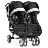 New 2014 Baby Jogger City Mini Double Stroller - Black